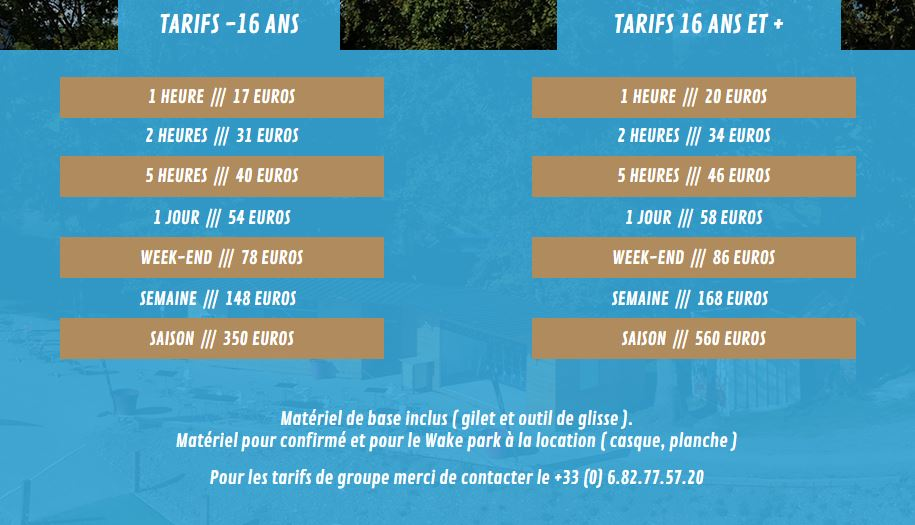 Tarif TNS73