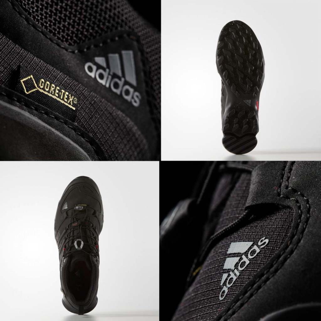 La célèbrissime membrane Gore-tex, ici à l'oeuvre dans une chaussure de randonnée Adidas.