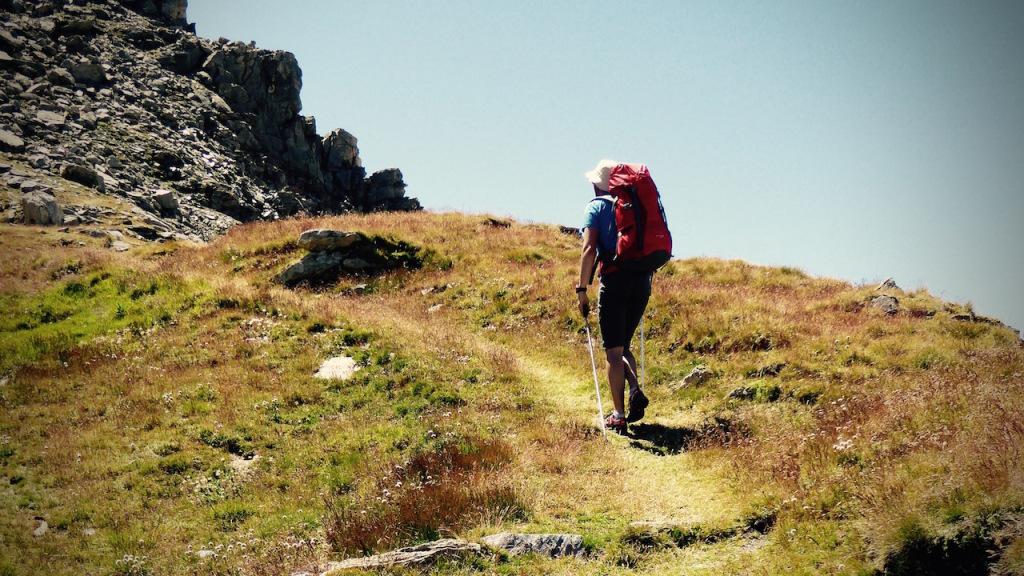 Randonnée dans le Val d'Aoste, août 2015.